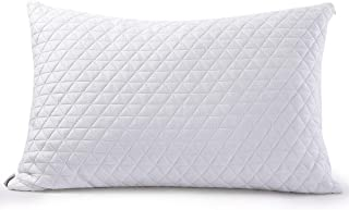 Abakan Memory Foam Fill - Premium Adjustable Loft Bed Pillow for Sleeping - Washable Removable Cooling Bamboo Derived Rayo...