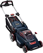 Worth PowerMax 84-Volt Lithium Battery Self-propelled Lawn Mower Cordless Brushless Motor Smart Cut (TM) 20-Inch 70mins Running Two 2.5AH Batteries Charger Excluded - M010B00