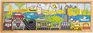 BeginAgain City A to Z Puzzle & Playset - Makes Learning Fun & Sparks A Child's Imagination - Ages 2+