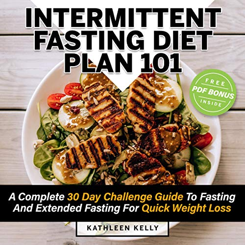 Intermittent Fasting Diet Plan 101 audiobook cover art