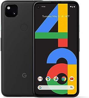 هاتف جوجل بيكسل 4a - سعة 128 جيجا بايت، رام 6 جيجا بايت، الجيل الرابع ال تي اي، اسود