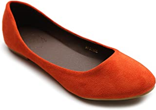 4b459b16184d Amazon.com  Under  25 - Orange   Flats   Shoes  Clothing