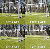 Samba Folding Multi Size football Goal with Nets. 4 in 1 Can change into 4 different sizes