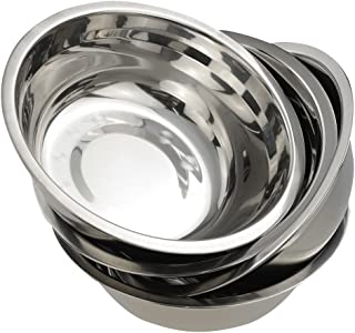 Best stainless steel mixing bowls set of 6 Reviews