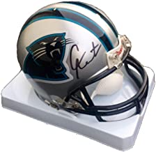 Cam Newton Signed Mini Helmet - PSA/DNA Certified - Autographed NFL Mini Helmets
