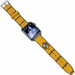 jiecgfdo Handsome Cartoon Leather Band Boys Sport Style Durable Soft Replacement Strap Wristband Compatible with Apple Watch SE/Series 6/5/4/3/2/1 and 38/40/44/42mm Girls Lovely