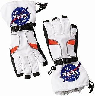 دستکش های فضانورد Aeromax ، اندازه کوچک ، سفید ، همراه با تکه های ناسا