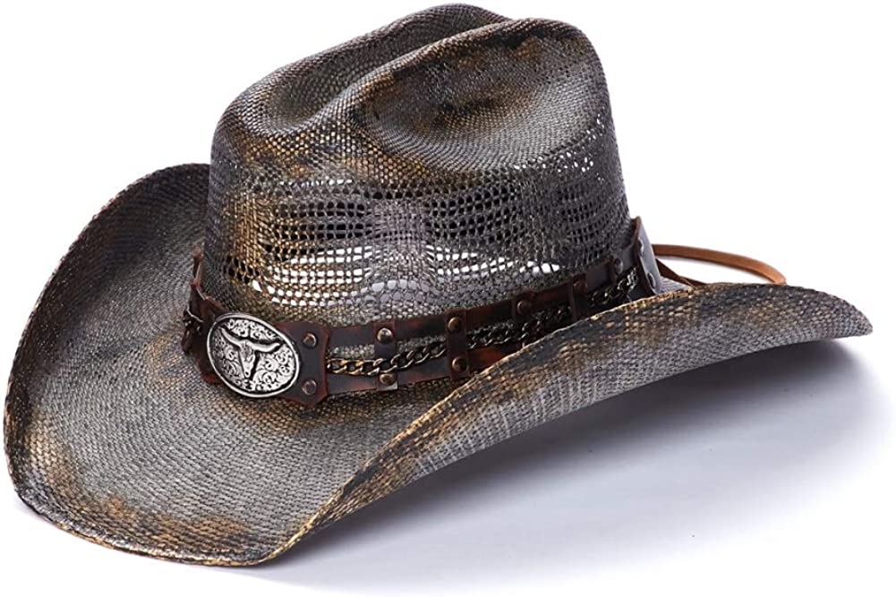 Houston Mall Our shop OFFers the best service Stampede Hats Men's Bullhide hat Longhorn with Western