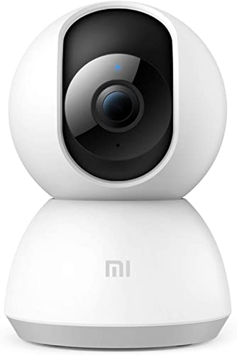 Mi 360° 1080p Full HD WiFi Smart Security Camera| 360° Viewing Area |Intruder Alert | Night Vision | Two-Way Audio |I...