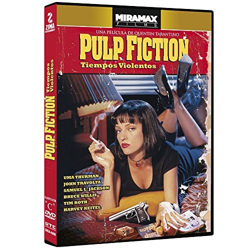 Pulp Fiction (Miramax Films) [NTSC/Region 1&4 dvd] by Quentin Tarantino (Audio: English, Spanish, Subtitles: Spanish)