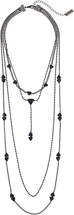 4 Layer Beaded Curb Necklace