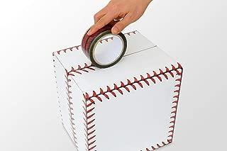 Adstape New Baseball Stitches Design Tape Cellophane Adhesive Baseball Tape Funny Home Decor