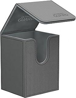 Ultimate Guard Flip Deck Case 80+ XenoSkin Standard Size Grey Card Game
