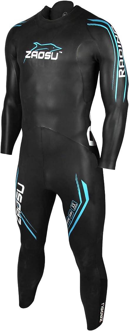 Muta da uomo in neoprene, flessibile, per nuoto e competizioni zaosu racing 2.0 4260461723658