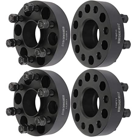 ROADFAR 1.5 Wheel Spacers 6 Lug 56x120mm to 6x120mm 14x1.5 Studs Compatible with Chevrolet Colorado Traverse for GMC Canyon