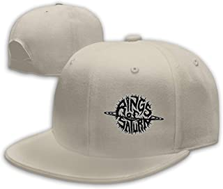 Men's Rings of Saturn Cotton Baseball Snapback Caps Adjustable Structured Fit Caps