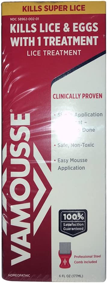 Tulsa Very popular Mall Vamousse Lice Treatment - 6 of Pack oz 5