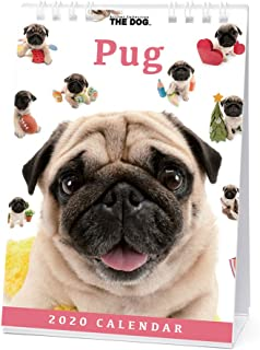 The Dog Desk Calendar 2020 Pug