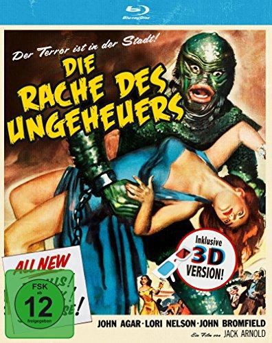 Die Rache des Ungeheuers (+ 3D-Brille) [Blu-ray]