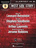 West Side Story Clarinet in Bb BK/CD Instrumental Play-Along
