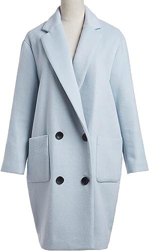Nihiug Winter Simple Straight Self Body Coat Métallique épais Elegant Lively Confident Art