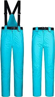 ELETOP Women's Snow Pants Outdoor Waterproof Windproof Ski Pants Warm Insulated Snowboard Pants 10 Colors