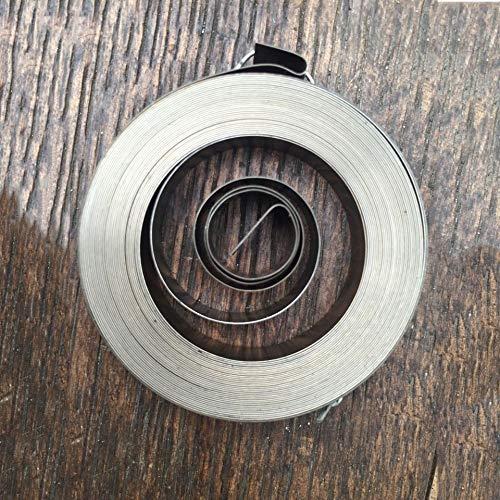 qinggw Constante 1pc Espiral del Alambre Plano Muelle Fuerza Springs, 0,25 mm de Espesor de 8 mm * Ancho * 5000 mm Longitud 45 mm * Diámetro de Salida