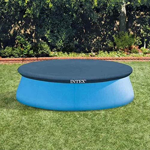 Intex 28020 Copripiscina Easy, PVC, Blu, 244 Cm