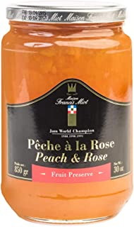 Peach And Rose Jam 850 GR