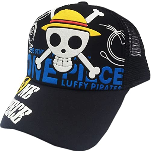 Boys Costume Accessories Novelty & Special Use Collection Here Anime One Piece Monkey D Luffy Cotton Printing Sun Hat Luminous Hat Baseball Cap Unisex Accessories Cosplay Hip-hop Fashion