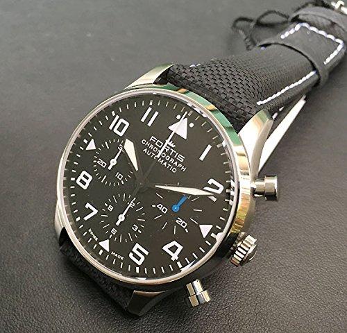 【正規輸入品】FORTIS(フォルティス) 腕時計 メンズ メンズウォッチ パイロット・クラシック クロノグラフ Ref.904.21.41LP 正規品