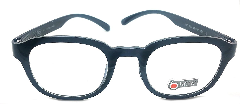 Briar Prescription Eye Glasses Frame Ultem Super Light, Flexible Br 305 C1