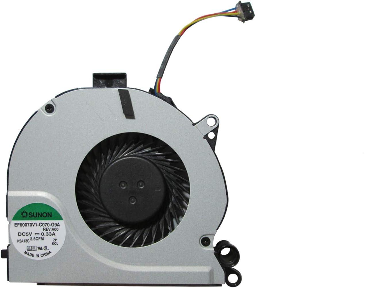 UTS-Shop Ventilador de procesador compatible con Dell Latitude E6230 095V9H DC28000A Notebook Serie
