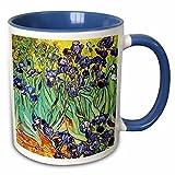Queen54ferna Irises By Vincent Van Gogh 1889 - Tazza da 311,8 g, colore: Blu