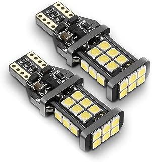 921 LED Bulb Backup Lights, 912/T15 Reverse Lights, SEALIGHT Error Free Non-polarity High Power 24 LED Chipsets 1600 Lumens Cool White Xenon 6000K 2019 UPGRADED