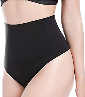 3-5 Days Delivery Women High Waist Trainer Tummy Slimming Control Waist Cincher Shapewear Body Shaper Thong G-String Butt Lifter Seamless Panties