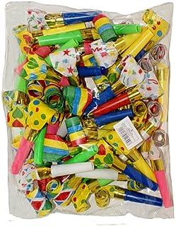48 Partytröten Luftrüssel, farbig gemischt, Partyspass Sch