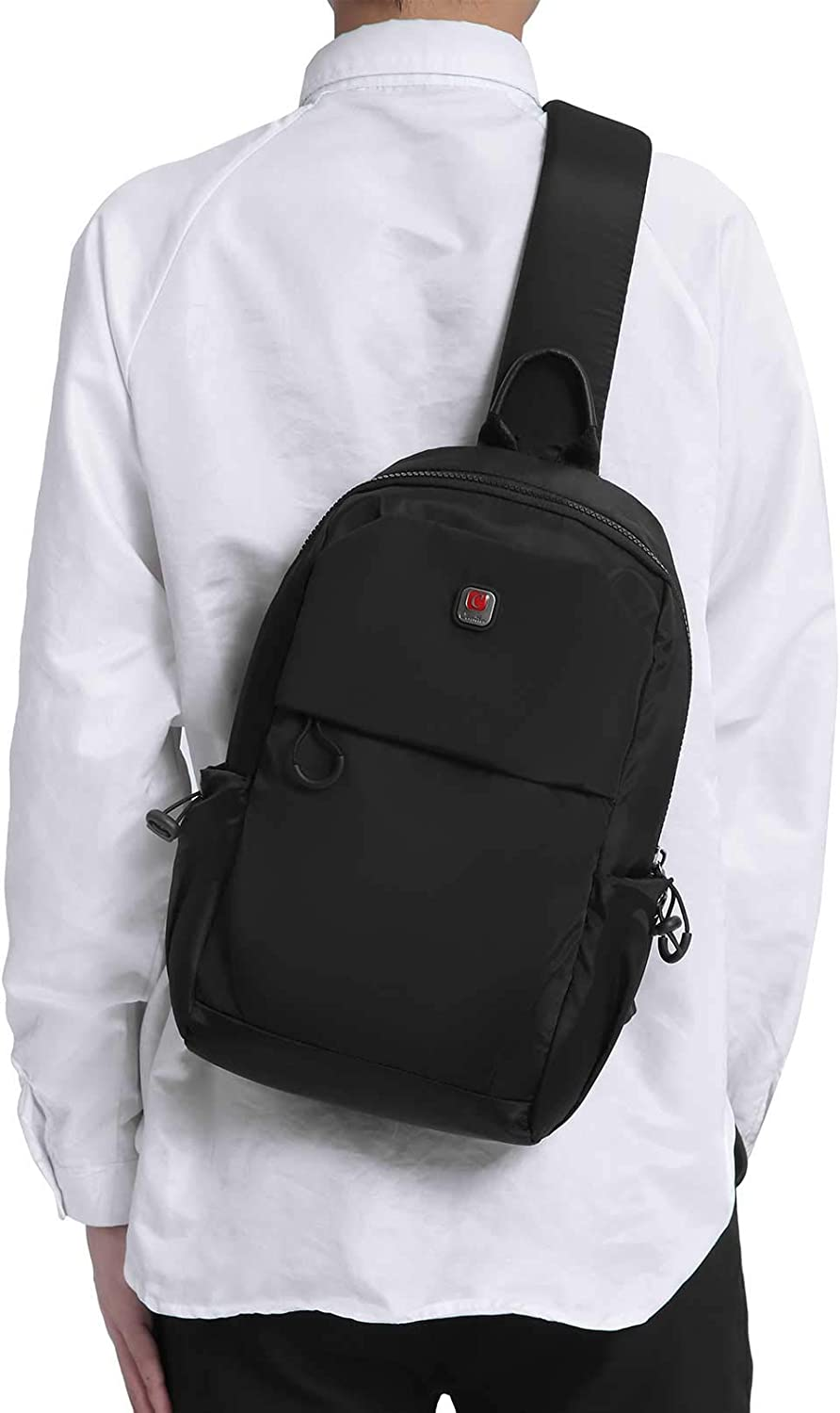 Max 53% OFF Men Small Sling Bag Crossbody Travel Max 68% OFF Backpack Chest Daypacks Pac