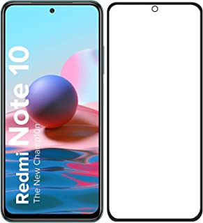 Redmi Note 10 Screen Protector Glass Full Glue Tempered Screen Guard Anti Explosion for Mi Redmi Note 10 / Note 10s by Nic...