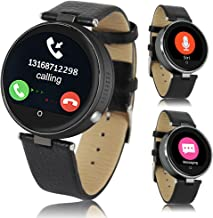 Indigi Bluetooth 4.0 SmartWatch Phone Stylish Space Gray Metal Case SIRI 3.0 for iPhone 6 6s Plus Android Galaxy S6 Edge Note 5 Smartphones
