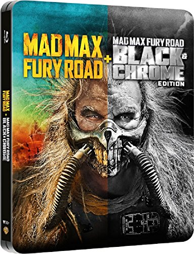 Mad Max Fury Road: Black And Chrome Edition Blu ray / Import / Region Free Blu Ray