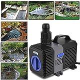 Forever Speed Super Eco Pompe de bassin, pompe à filtre, basse consommation, pompe à eau bassin koï, pompe ruisseau 3000L/H