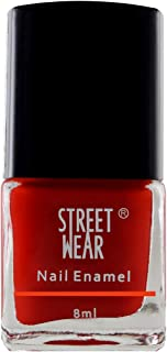 Street Wear Nail Enamel, My Red, 8ml