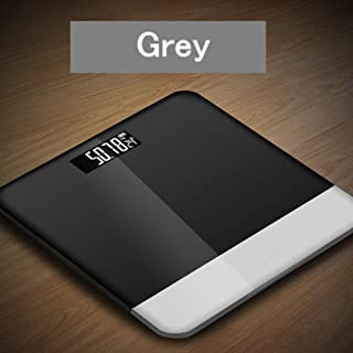 GJJSZ Báscula Corporal Báscula de baño Báscula Corporal Grasa LCD Báscula Digital de Peso Báscula Báscula Inteligente para el hogar Accesorios