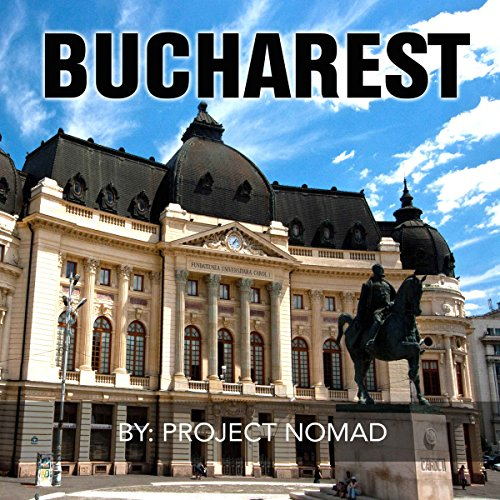 Bucharest audiobook cover art