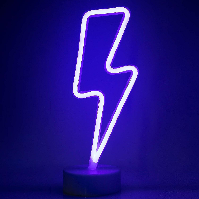 f/ête ZWOOS Enseigne lumi/ère n/éon pour chambre /à coucher Veilleuse LED aliment/ée par batterie ou USB Flocon de neige bar Enseigne lumineuse pour no/ël