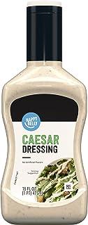 Amazon Brand - Happy Belly Creamy Caesar Dressing, 16 Fl Oz