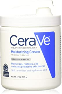 Cerave Moisturizing Cream With Pump For Normal To Dry Skin 19 Oz