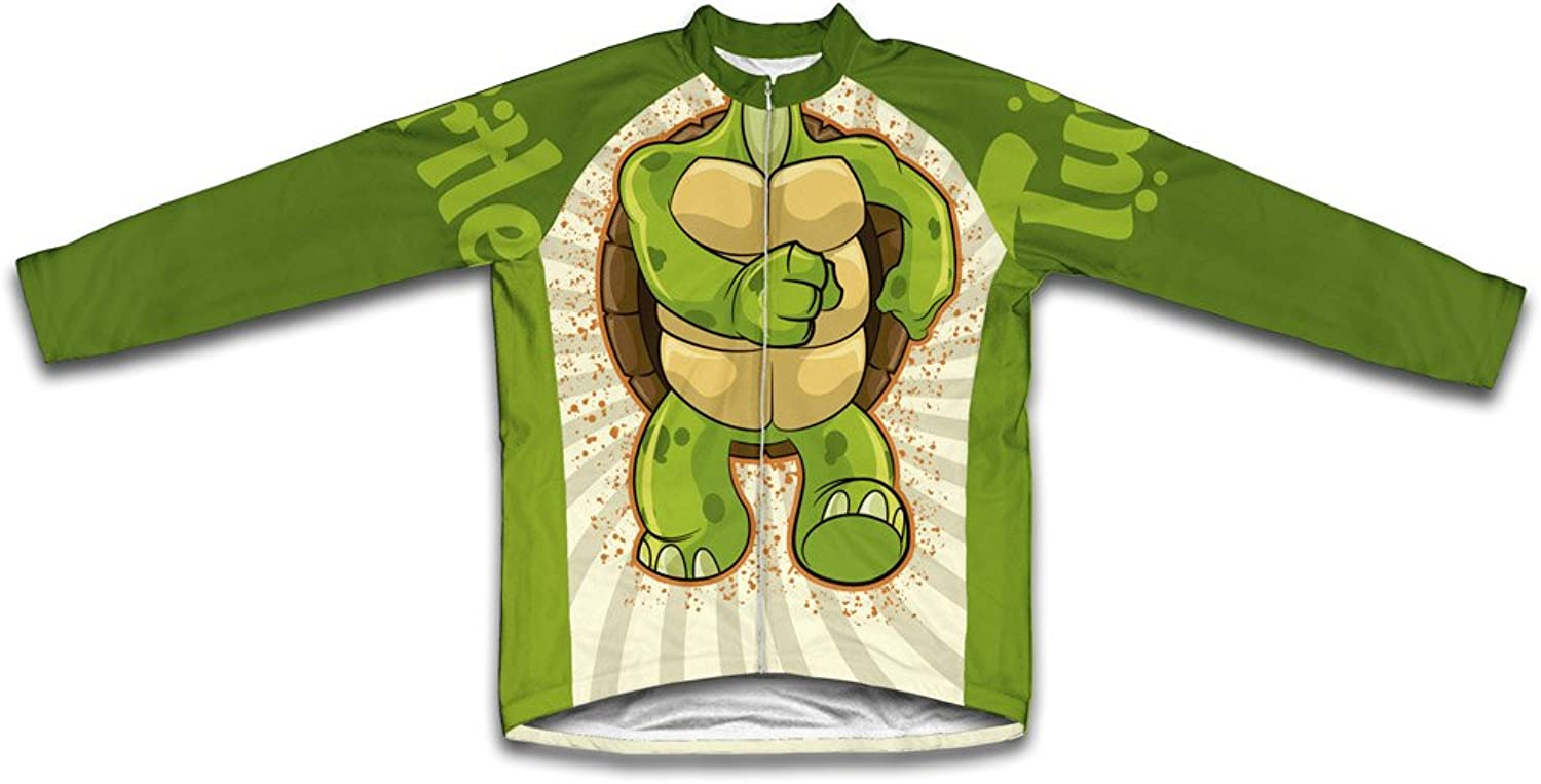 Turtle Long Sleeve Cycling Jersey for Women