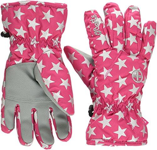 Barts Kids Handschuhe, rosa (Berry stars), 3 (4-6 Jahre)